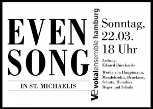 Evensong im Michel